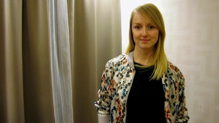 Fysioterapeutti Anna Dejler, kuva: Tytti Jussila / SR Sisuradio