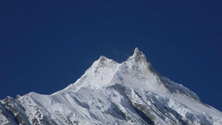 Tuon huipun ylitse! Foto Vincent Cantrijn.