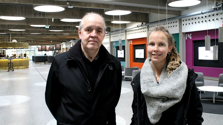 Keijo Knutas, Hanna Hallakumpu. Foto: Kai Rauhansalo