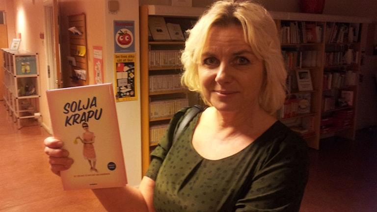Solja Krapu.Kuva:Ulla Rajakisto/Sveriges Radio Sisuradio