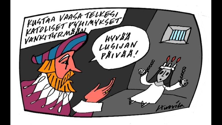 Markku Huovila Kustaa Vaasasta