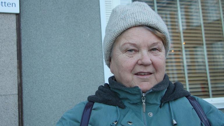 Terttu Hintukainen ei tykkää uusintavaaleista, vaikka aikoo kyllä äänestää. Kuva/Foto: Hannele Kenttä