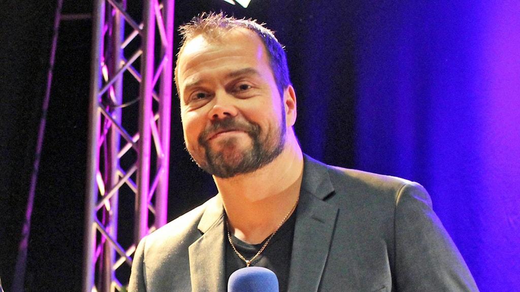 Marko Säävälä #vågafinska-kirjajulkkareissa