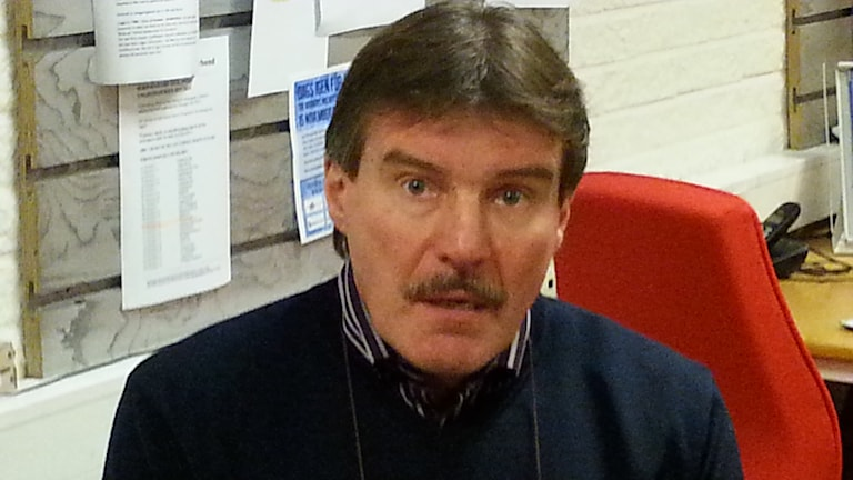 Kari Eloranta, kuva Pekka Ranta, Sveriges Radio.