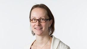 Sisuradion ohjelmapäällikkö Niki Bergman. Foto: Micke Grönberg/Sveriges Radio