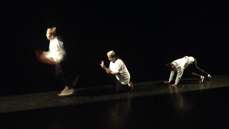 Maskrosbarn-esitys Helsingborgissa. Kuva: Sanna-Leena Rinne/SR