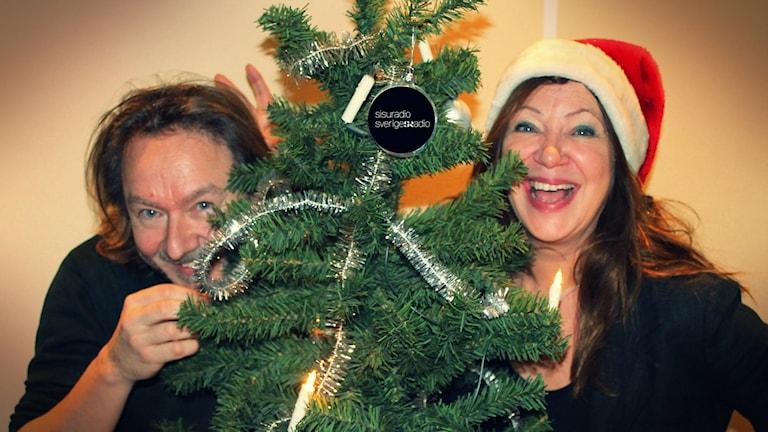 Soili ja Ismo viettävät jouluaaton radiossasi.