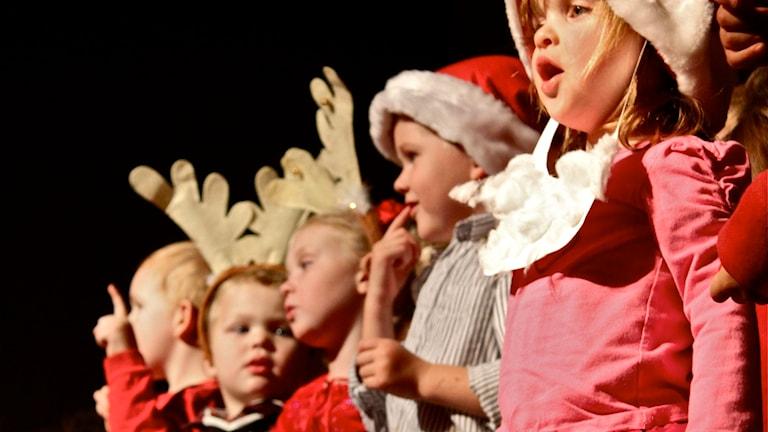 Ovatko joululaulut parhaita lasten laulamina? Foto: A Bear Named Bryan / Flickr (CC BY-NC-SA 2.0)