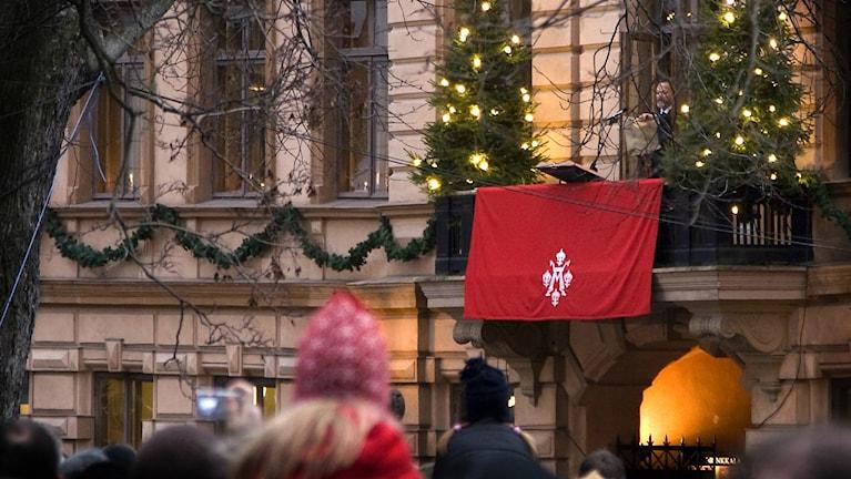 Joulurauhan julistus Turussa