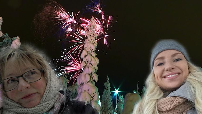 Valmistaudu vuoden vaihtumiseen Ulla Rajakiston ja Tytti Jussilan seurassa. Foto: Sisuradio & Timo Newton-Syms/Flickr (CC BY-SA 2.0) Edit: Sisuradio