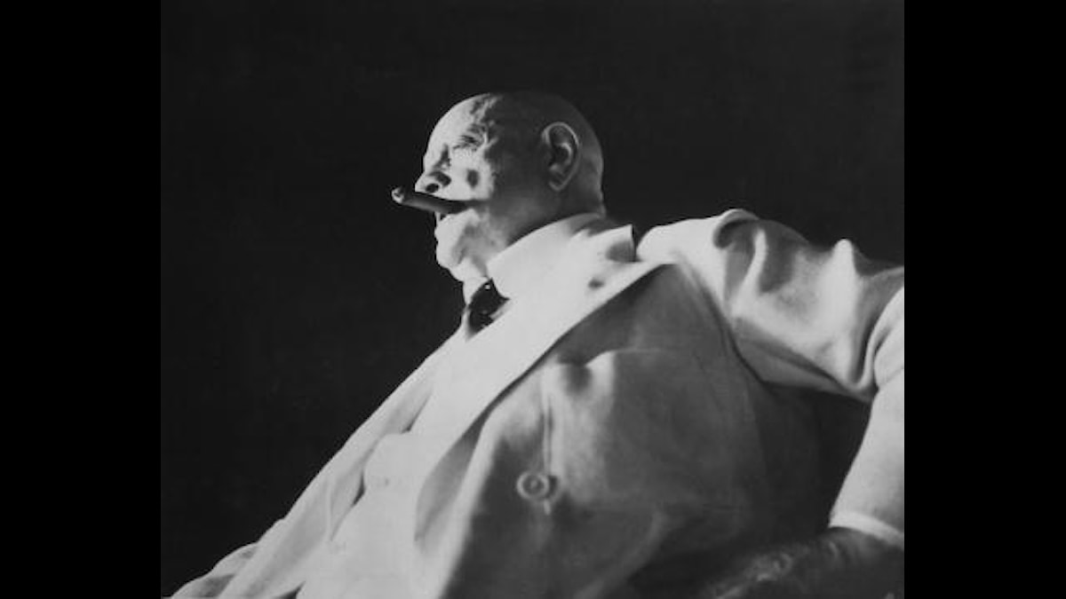 Jean Sibelius.  Kuva/Foto: SVT BILD.