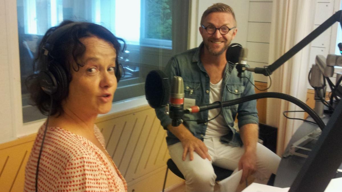 Siri Hamari ja Timo Nieminen.Kuva:Ulla Rajakisto/Sverigesradio.se