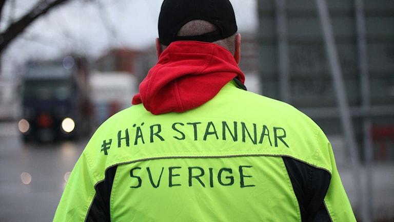 Här stannar Sverige  foto:jukka tuominen