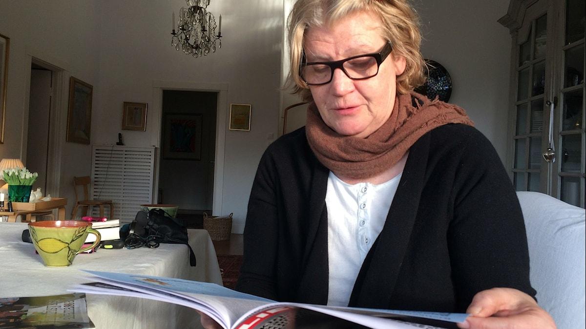 Jaana Johansson Liekki Foto: Kaarina Wallin/Sveriges Radio Sisuradio