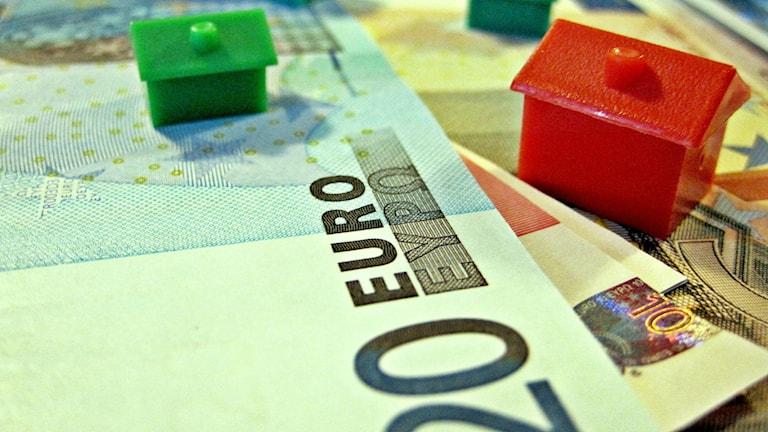 Euroseteli muovinen talo