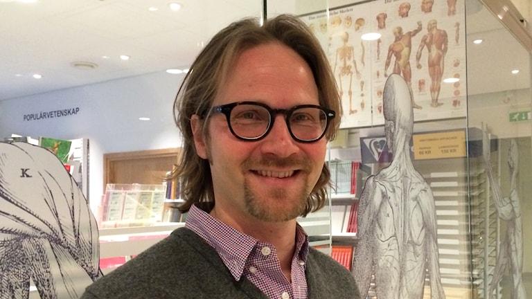 Juha Nieminen työskentelee Karoliinisen instituutin lääketieteellisen pedagogiikan yksikössä. Virpi Inkeri/SR