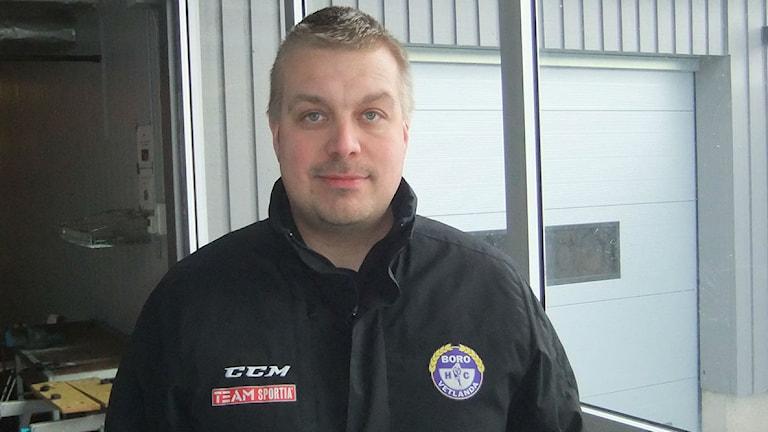 Jussi Salo, kuva Pekka Ranta, Sveriges Radio.