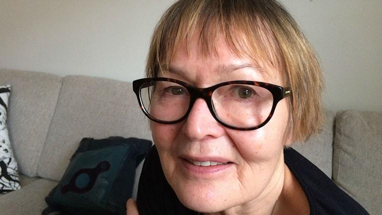Elina Linna (V) Foto: Kaarina Wallin/Sveriges Radio Sisuradio