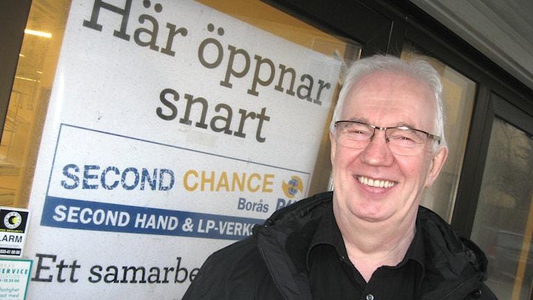 Toiminnanjohtaja Kari Ängeslevä, LP-kontakten Borås. Kuva: Teija Martinsson.