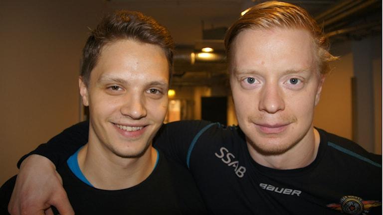 Kristian Näkyvä ja Lennart Petrell LHF Foto: Pekka Kenttälä/Sisuradio