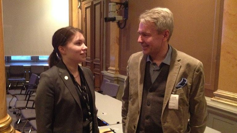 Annika Hirvonen & Pekka Haavisto