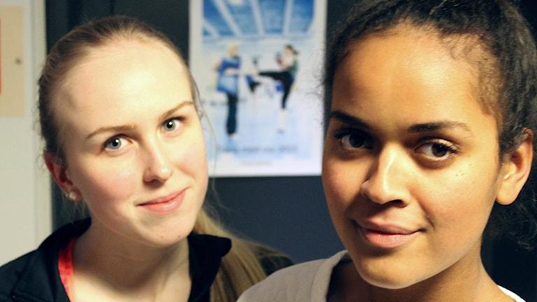 Julia Andersson Pietarinen, Annabel Aroka. Foto: Kai Rauhansalo