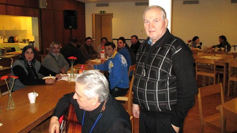 Romaniassa EU:n avustusrahat ovat menneet herrojen taskuun, sanoo Ale Lindgren. Foto: Peter Petrelius/SR