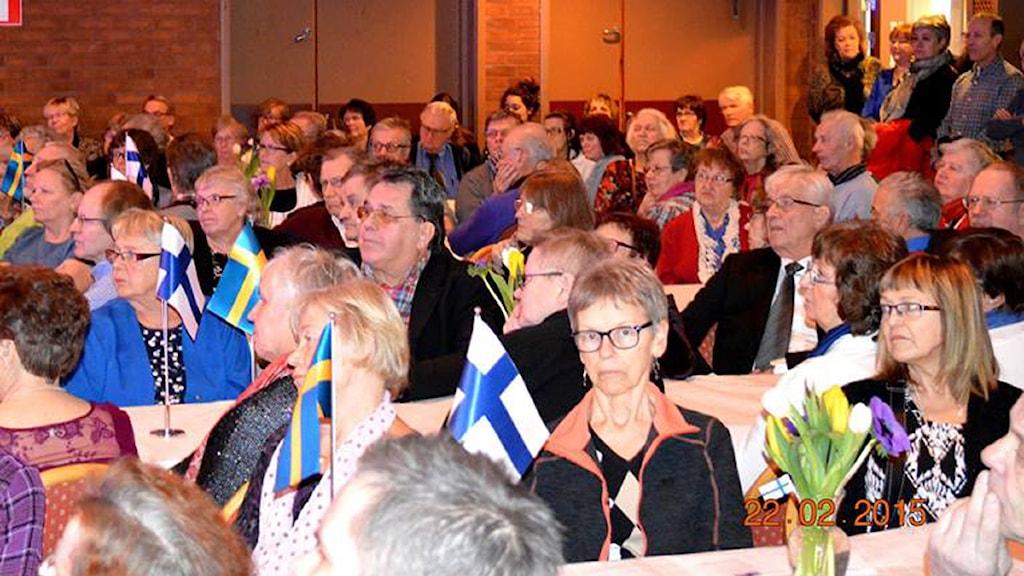 Nykvarnissa juhlittiin ruotsinsuomalaisten päivää Foto: Anneli Tikkanen-Rozsa