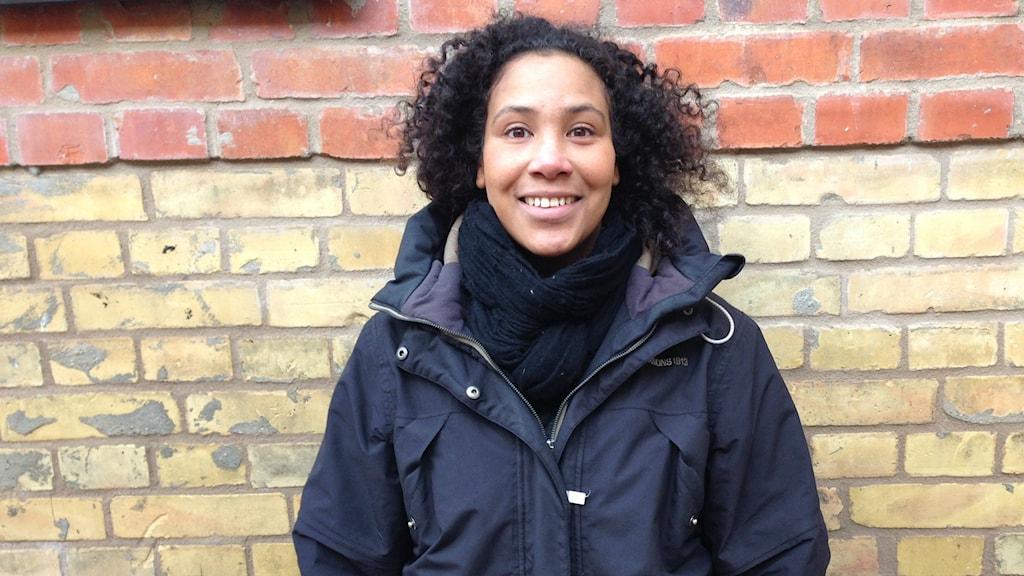 Majula Drammeh. Foto: A-L Hirvonen Nyström/SR Sisuradio