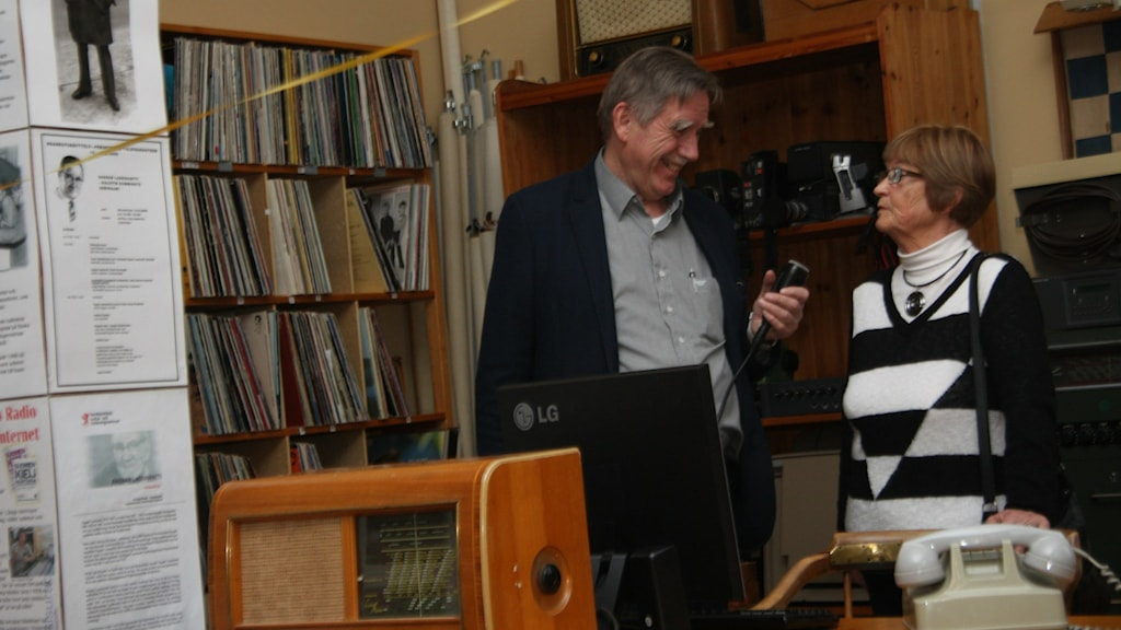 Juha Tainio ja Kyllikki Kenttä Ragnarin Raatio museon avajaisissa. Foto/Kuva: Hannele Kenttä