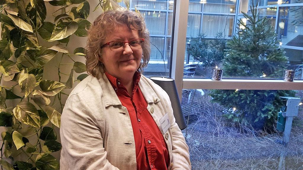 Anne Seppänen, Smedjebackenin kunnasta / från kommunen. Kuva/Foto: Anna Tainio, SR Sisuradio