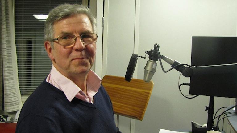 Språkforskaren Kaarlo Voionmaa. Foto: Helena Huhta