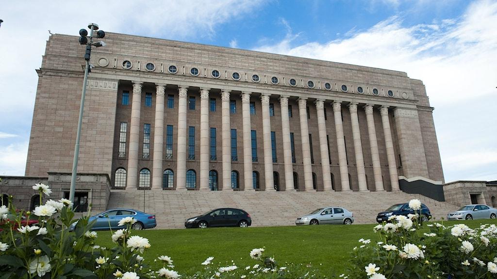 Eduskuntatalo, Helsinki, Suomi. Foto/Kuva: Jonas Ekströmer/TT
