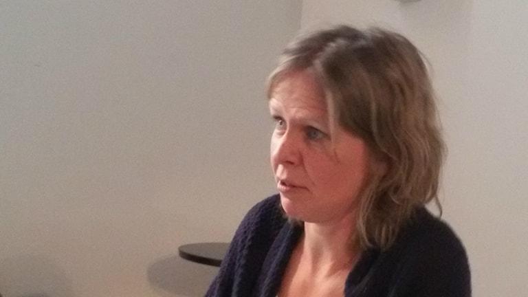 Kirjailija ja toimittaja Anna-Lena Laurén.