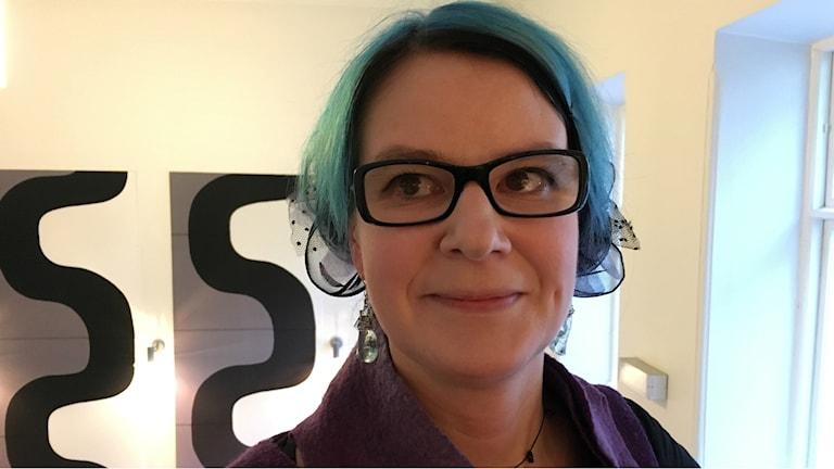 Kirjailija ja kustantaja Tiina Hautala