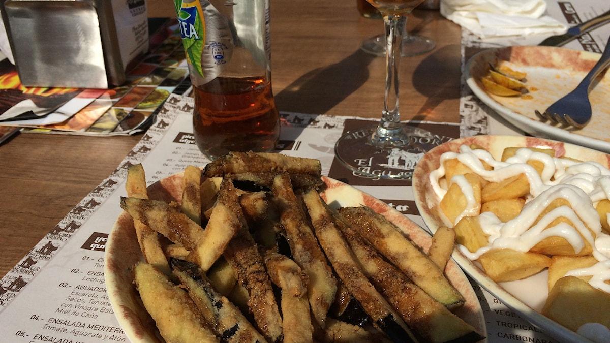 Tyypillistä espanjalaista ruokaa. Spansk mat. Kuva/Foto: Jasmine Malla