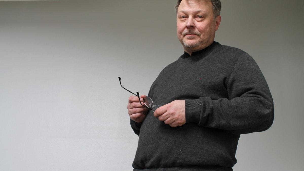 Olli Hörkkö. Bild: Lina Puranen/Sveriges Radio Sisuradio
