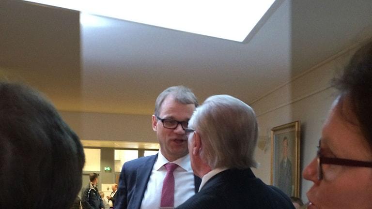 Juha Sipilä. Foto: Heidi Herrmann/Sveriges Radio Sisuradio.