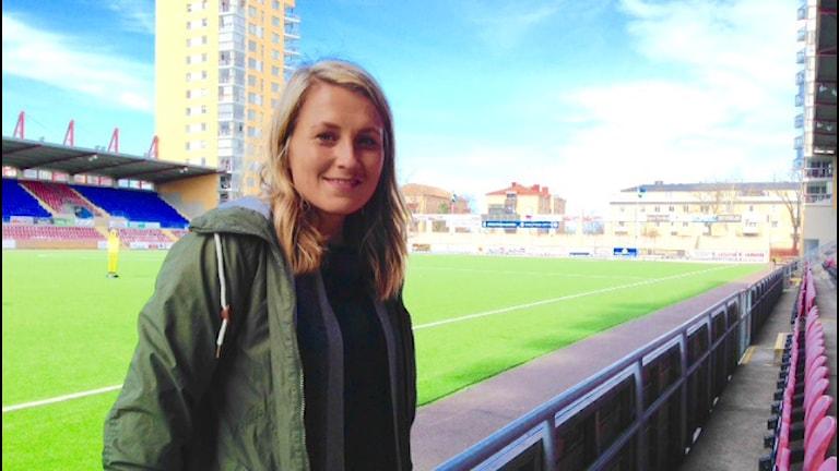 Kansliapäällikkö Annina Åman, Eskilstuna united