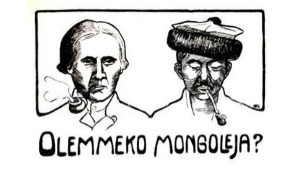 Olemmeko mongoleja? Kuva 1800-luvulta