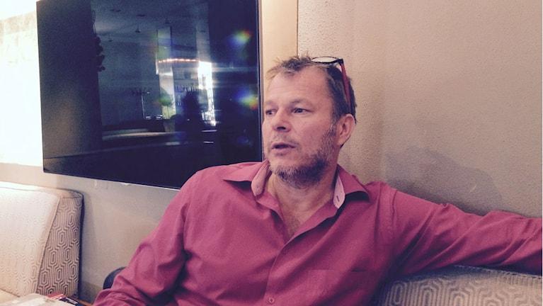Maailmanpolitiikan professori Teivo Teivainen. Kuva/Foto: Jorma Ikäheimo/Sveriges Radio Sisuradio.