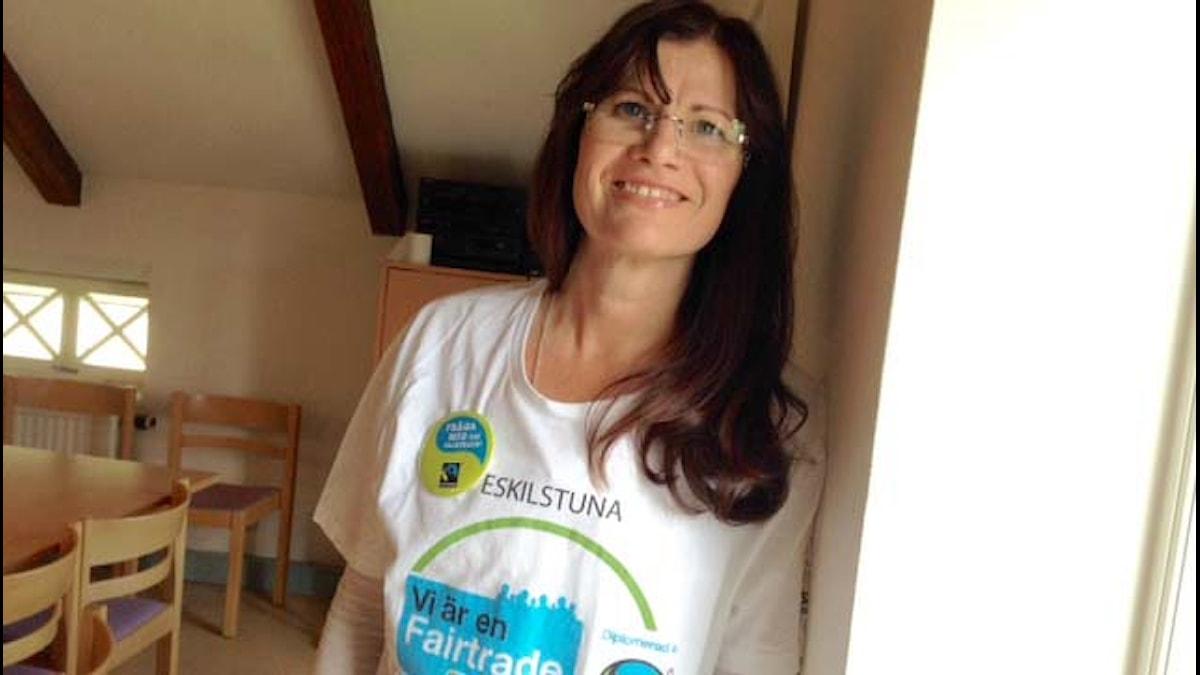 Minna Maria Lindroos Fairtrade-paidassa