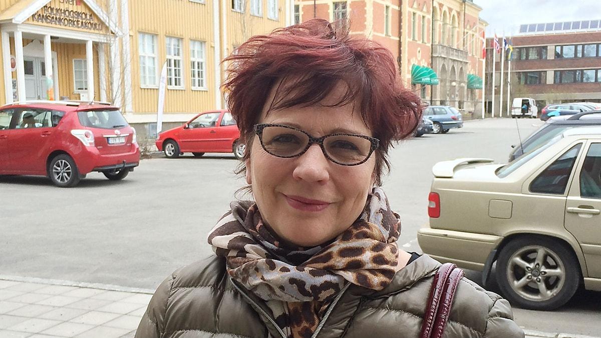 Pia Suonvieri on Kalottjazzin järjestäjä ja juontaja.