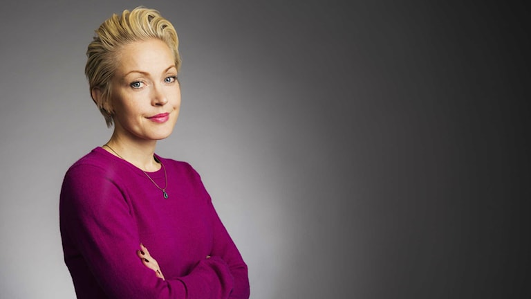 Sofia Taavitsainen. Foto: Mattias Ahlm/Sveriges Radio