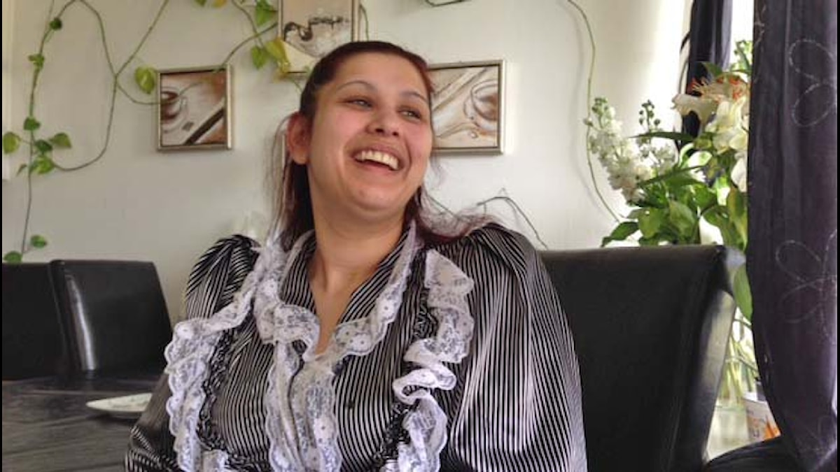 Katarina on iloinen lähihoitaja