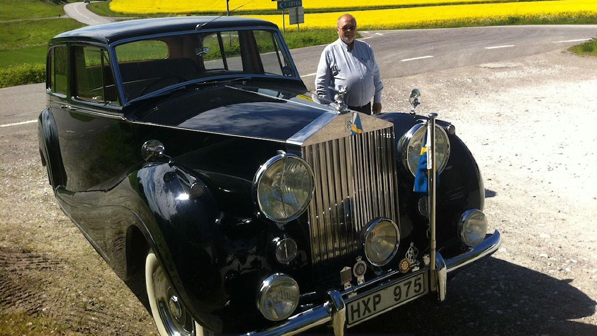 Juhani Hakkarainen ja Rolls Royce Wraith -55