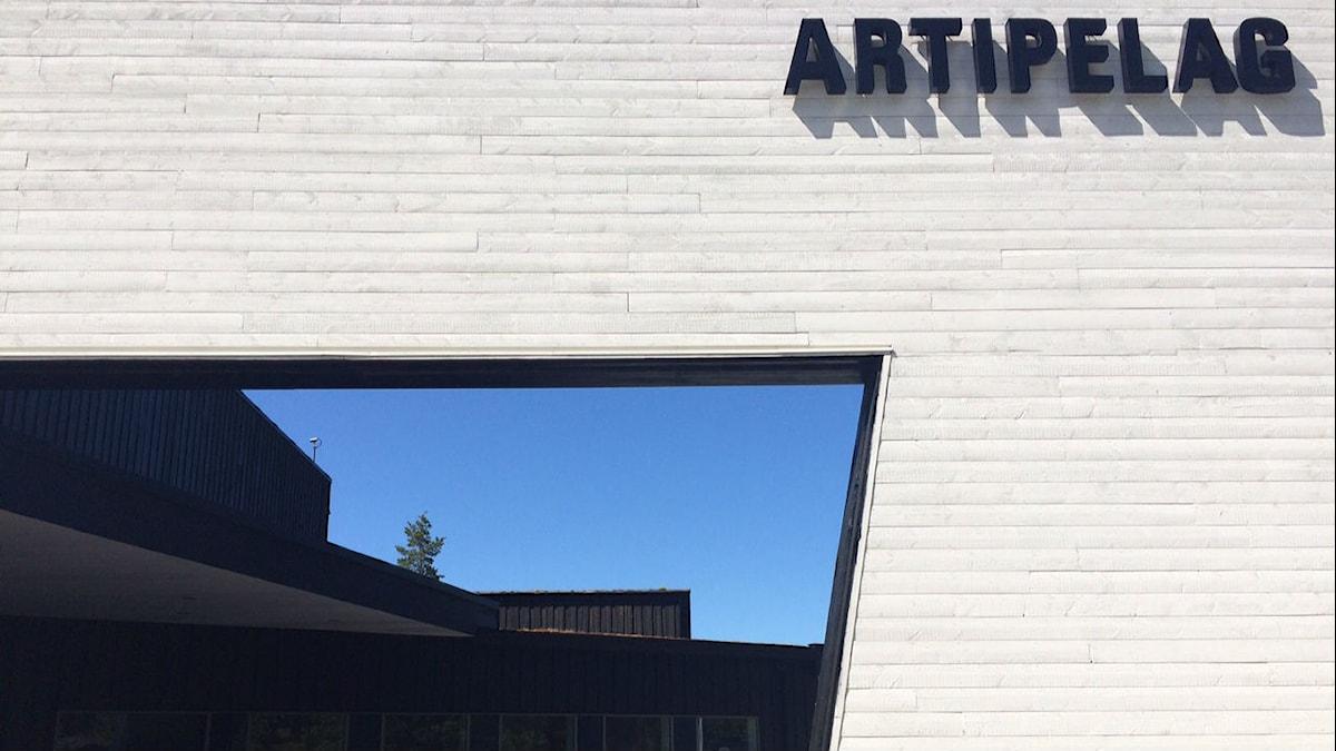 Artipelag on taide- ja kulttuurikeskus Tukholman itäpuolella, Värmdön Gustavsbergissä. FOTO: Marjaana Kytö, Sveriges Radio Sisuradio