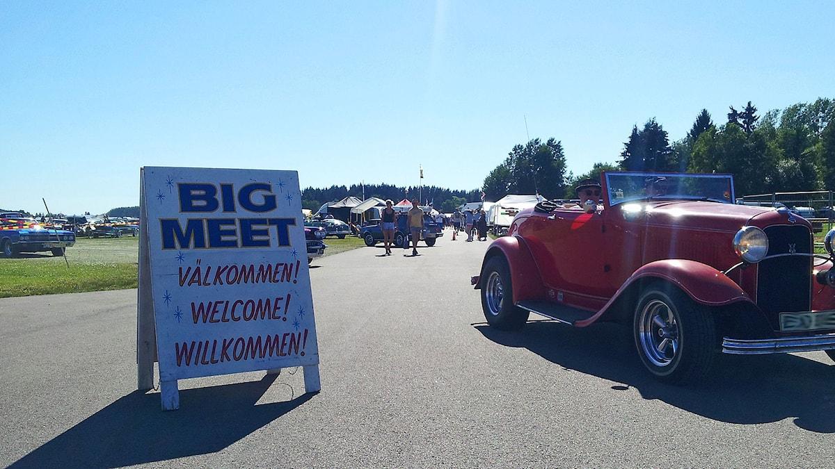 Big Meet hälsar/toivottaa: Välkommen, Welcome, Willkommen! Kuva/Foto: Anna Tainio, SR Sisuradio