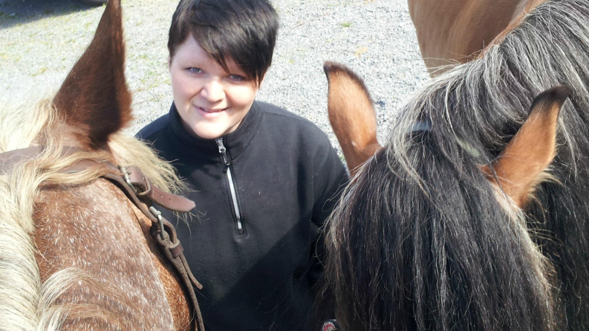 Henna ja hevoset.