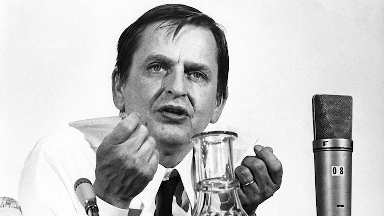 Olof Palme. Sawirle: SVT